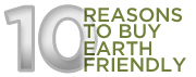 10 reasons to Buy Earth Friendly